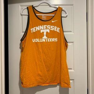 Men's Nike Tennessee volunteers tank top XXL